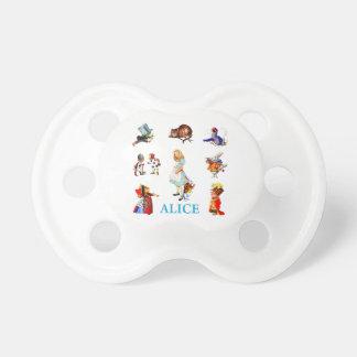 Alice i underland och vänner napp