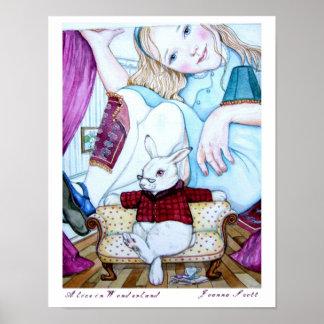 Alice i underland, poster
