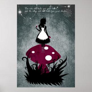 Alice i underlandaffisch poster