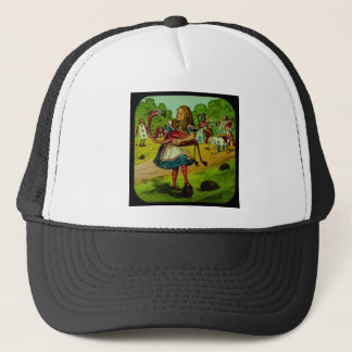 Alice i underlandFlamingoCroquet Keps