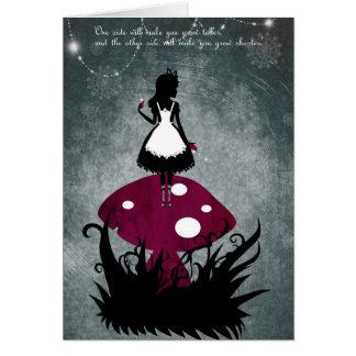 Alice i underlandkort OBS kort