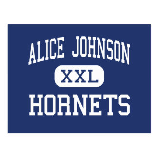 Alice Johnson - bålgetingar - junior - Channelview Vykort
