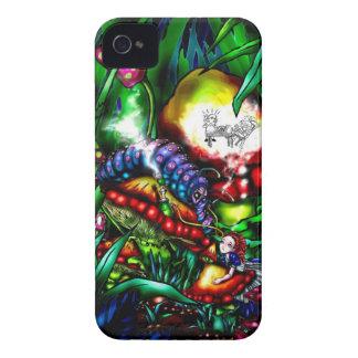 Alice och Caterpillar Case-Mate iPhone 4 Case