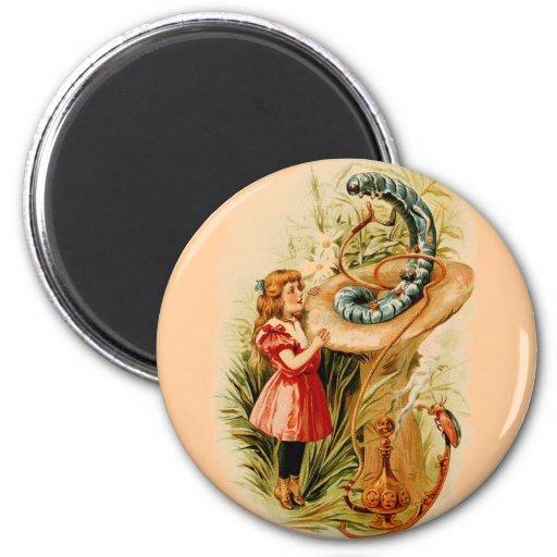 Alice och de Caterpillar magneterna Magneter