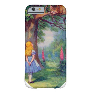 Alice och den Cheshire katten Barely There iPhone 6 Skal