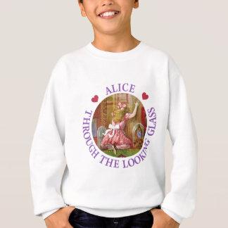 Alice till och med det tittar exponeringsglaset t-shirt