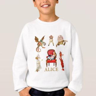 Alice till och med det tittar exponeringsglaset tröja