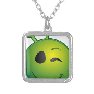 alien-41626 silverpläterat halsband