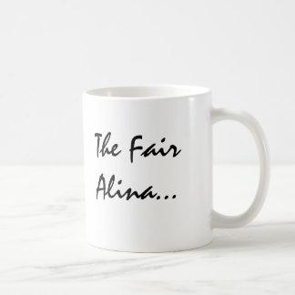 Alina med Celtic menande Kaffemugg
