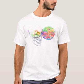 Alkemi för DMT för Crystal skalle Pineal Tee Shirt