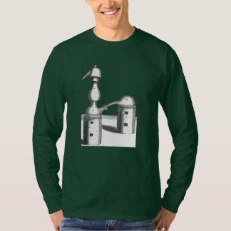 Alkemidestillationverktyg beklär och drar tillbaka tee shirt