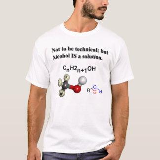 Alkohol är en lösning t shirts
