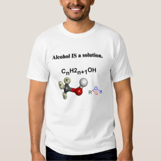 Alkohol ÄR en lösning! Tee Shirts