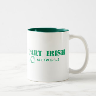 All irländare besvärar Två-Tonad mugg