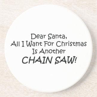 All kära Santa som jag önskar för jul, är en annan Underlägg Sandsten