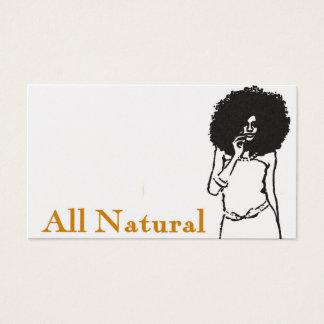 All naturligt visitkort