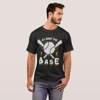 All om det basera t-shirt