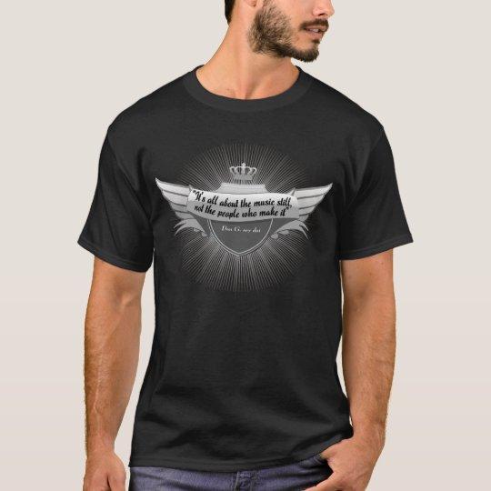 """""""All om musiken """", T-shirt"""