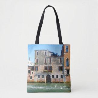 All över den Venedig totot hänga lös Tygkasse