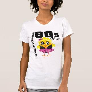 Alla älskar en 80-talchick t-shirt