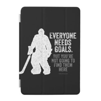 Alla behöver mål (hockey) iPad mini skydd