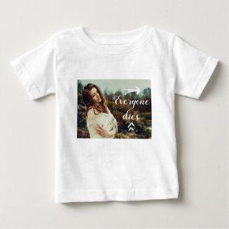 Alla dör tee shirts