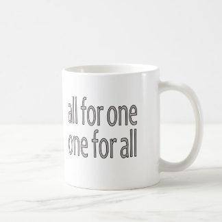 Alla för en, Un häller Tous Kaffemugg