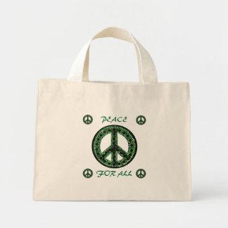 alla grön fred för hänger lös mini tygkasse
