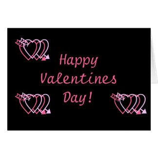 Alla hjärtans dag! hälsningskort