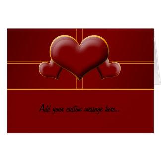 Alla hjärtans daghälsning hälsningskort