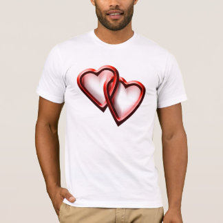 Alla hjärtans daghjärtor t shirts