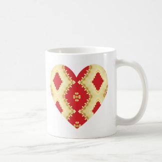 Alla hjärtans dagkaffemugg kaffemugg