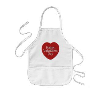 Alla hjärtans dagT-tröja och gåvor Barnförkläde