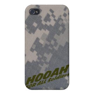 Alla Hoohah för tjäna som soldat, personifierade iPhone 4 Fodral