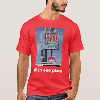 alla i ett ställe t-shirt