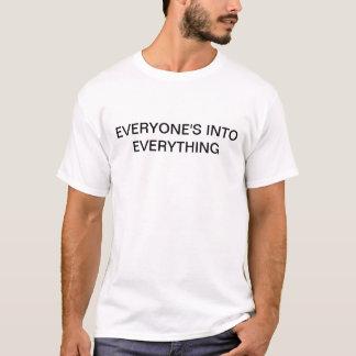 Alla in i allt skjorta t-shirt