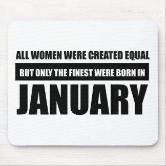Alla kvinnor var skapade jämbördiga Januari Musmattor