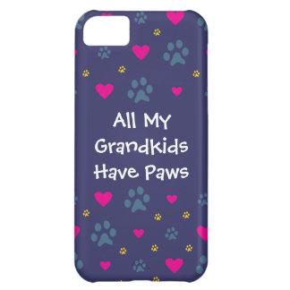 Alla min Barnbarn-Barnbarn har tassar iPhone 5C Fodral