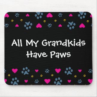 Alla min Barnbarn-Barnbarn har tassar Musmatta