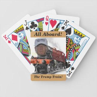 Alla ombord korten för trumftåglek spelkort