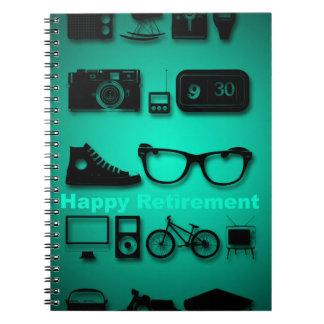 Alla saker gillar du pensiongästboken anteckningsbok med spiral