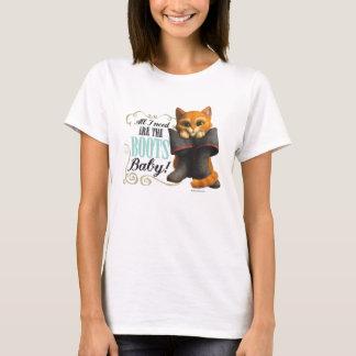 Alla som jag behöver, är kängorna (färg) tee shirt