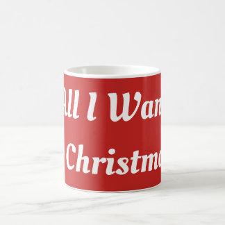Alla som jag önskar för julmugg kaffemugg