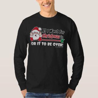 Alla som jag önskar för rolig design för jul t-shirt