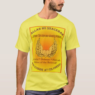 Allah Ho Snackbar skjorta Tee Shirt