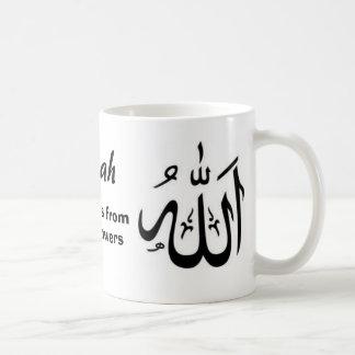 Allah skyddar oss fromyouranhängare kaffemugg