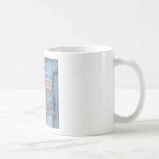 Allan Acrostic Kaffemugg