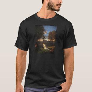 Allegori av kyskhet vid den Lorenzo lottoen T-shirt