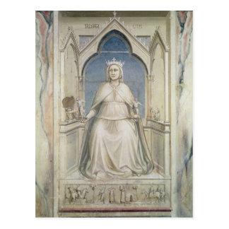 Allegori av rättvisa, c.1305 vykort