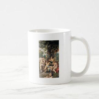 Allegori av vice vid Correggio Kaffemugg